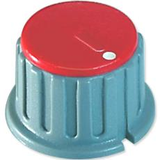 25 Mm Round Collet Knob With Marked Cap