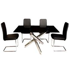 Ms Chrome Plated Base Dinning Sets