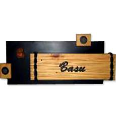 Mural black name plate indian products directory for Mural name plate