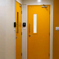 Wall To Wall Double Opening Fire Protective Door