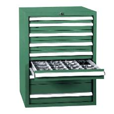Tool Storage Cabinet With 6 Different Compartments
