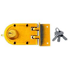 One Side Rounded Night Latch/ Rim Lock