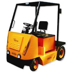 4 Wheel Battery Operated Industrial Towing Truck