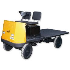 Platform Truck With Battery Discharge Indicator