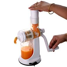Hand Operated Slow Juicer : Hand Operated Fruit/ vegetable Juicer - Indian Products Directory