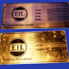 Industrial Name Plates