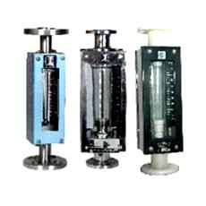 Vertically Mounted Glass Tube Rotameter