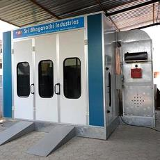 Automobile Bus Paint Booth With Roof Panel