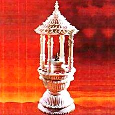 Crafted Designer Marble Temple
