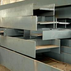 Fabricated Steel Beam Structure