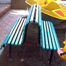 Fibre Reinforced Plastic Made Garden Benches