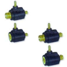 Gas Exit Cable Connector For Welding Industry