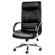 Castor Mounted High Back Chair