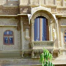 Designer Sand Stone Wall Carving