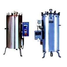 Vertical Autoclave With Pressure Gauge