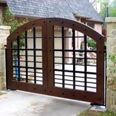 Swing Gate Automation System With Underground Motor