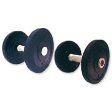 Dumbbells With Chrome Plated Steel Rod
