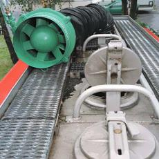 Electrically Operated Mobile Axial Fans