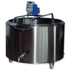 Batch Pasteurizer With Outlet Connection