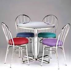 Designer Table & Chair Set For Restaurant