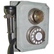 Antique Wall Hanging Telephone