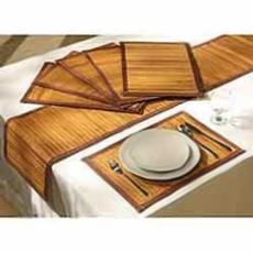 Shrink Resistant Dinning Table Placemats