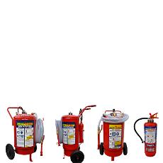 Cartridge / Trolley Mounted Dry Chemical Powder Fire Extinguisher