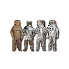 Fire Entry Suit With Breathing Apparatus Pouch