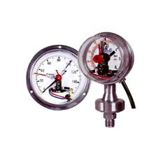 Electric Contact Gauges With Bourdon Tube
