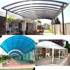 Weather Resistant Poly Carbonate Roofing