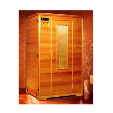 Infrared Sauna With Wooden Panelling