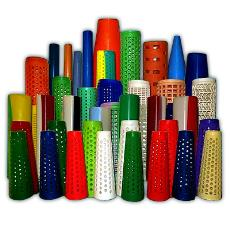 Polyvinyl Chloride Made Cones And Tubes