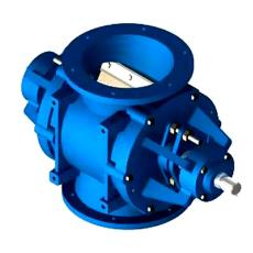 Rotary Airlock Valve With Outboard Bearings
