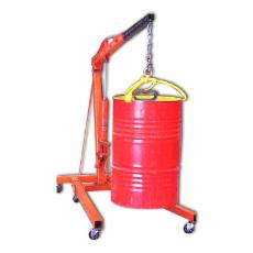 Mobile Floor Crane With Hand Operated Pump