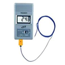 Digital Thermometer With Liquid Crystal Display