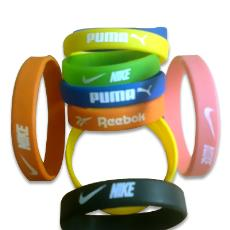 Silicon Made Sports Wrist Band