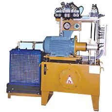 Hydraulic System For Dishing Operation
