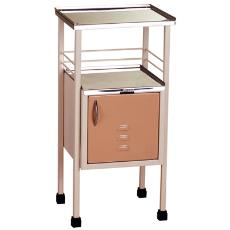Bed Side Locker With Stainless Steel Made Top