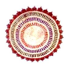 Round Shaped Table Mat