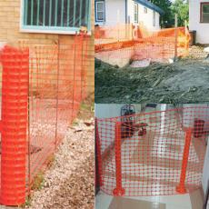 Temporary Fence For Outdoor Installation