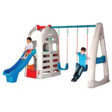 Corrosion Resistant Slide And Swing