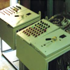 Pneumatic And Electrical Control Desk