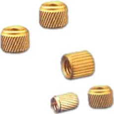Brass Helical Knurled Insert