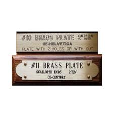 Brass Made Name Plate
