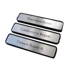 Smooth Finished Metal Nameplate