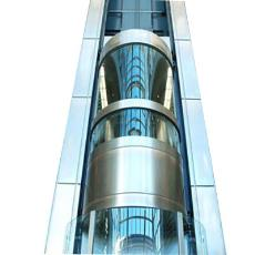 Panoramic Elevator With Transparent Glass