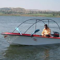 Fibre Reinforced Plastic Made Speed Boat