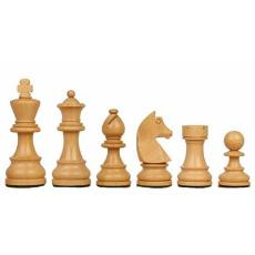 Tournament And Wooden Chess Pieces