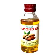 Hygienically Packed Almond Oil