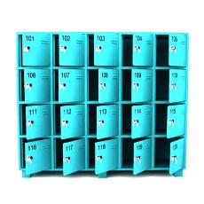 Square Shaped Commercial Locker